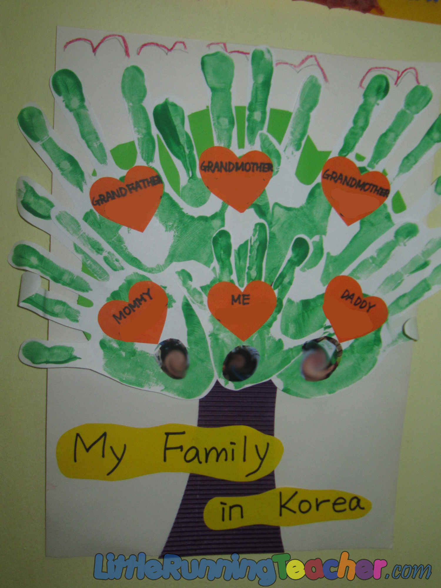 family tree craft ideas for preschoolers family tree in preschool running 7712