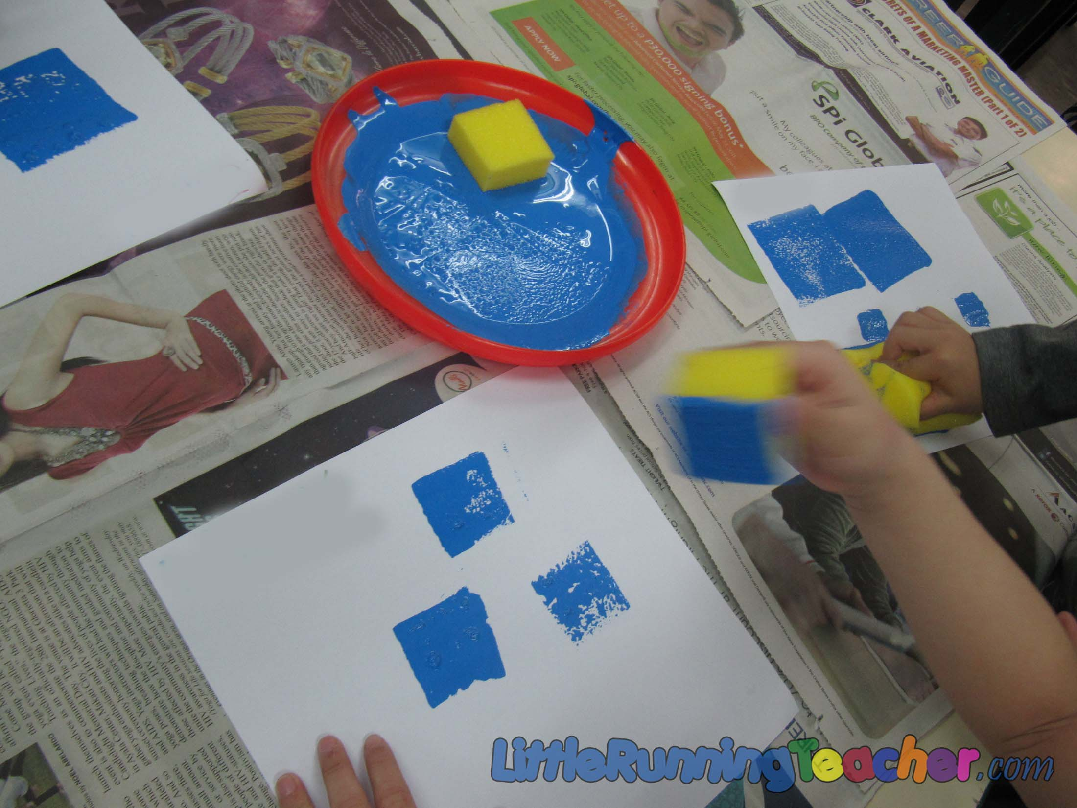 Colour shades activities - Let