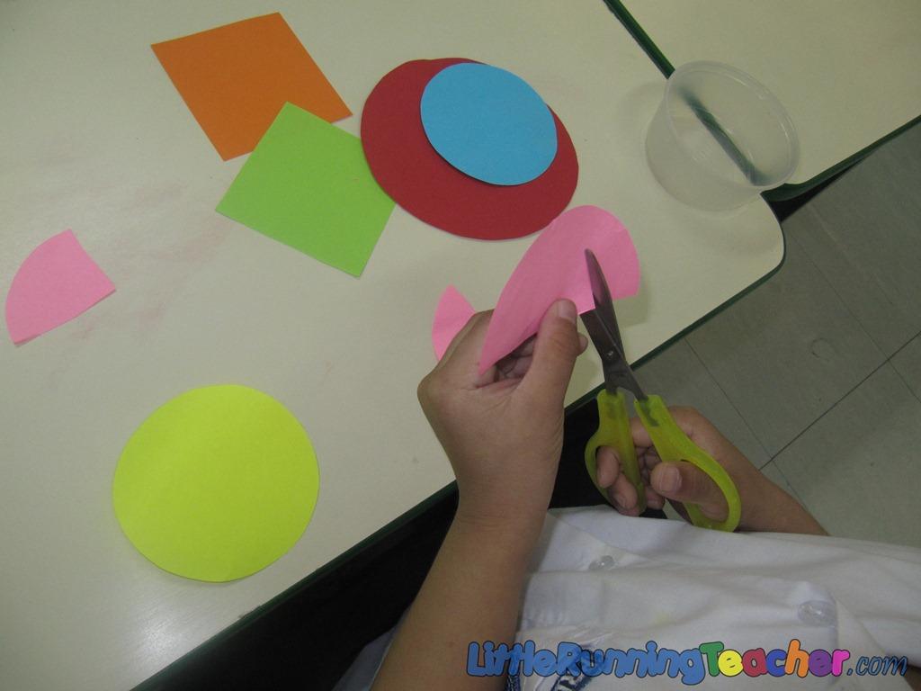 Painting with Scissors like Henry Matisse | Little Running Teacher