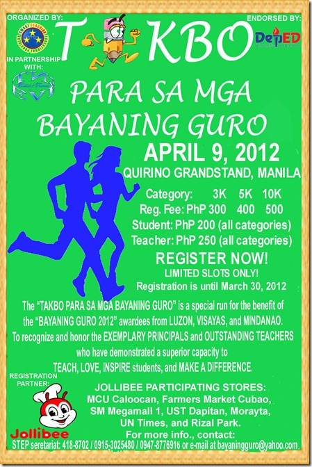 bayaning guro APRIL 9  poster