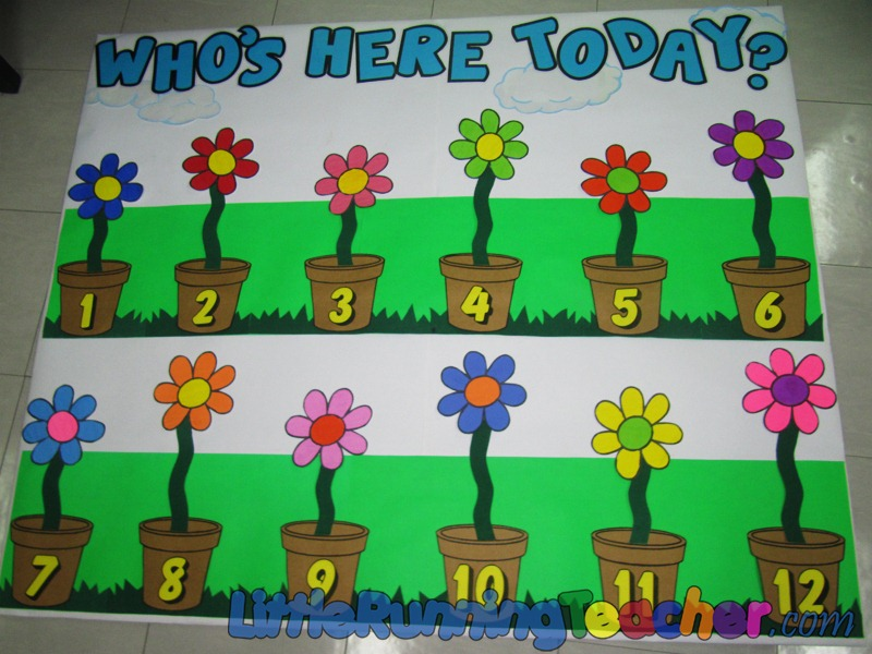 Classroom Board Decoration Ideas For Kindergarten : Back to school classroom design little running teacher