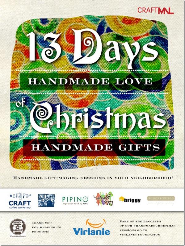 Craft MNL's 13 Days of Christmas Handmade Love | Little Running ...