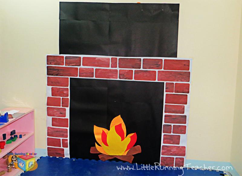 Decorating Ideas > Classroom Fireplace Decor For Christmas  Little Running  ~ 212114_Door Decorating Ideas Fireplace