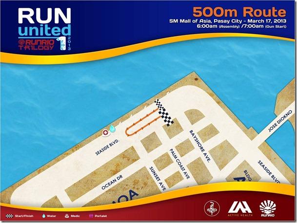 Ru1 500m route