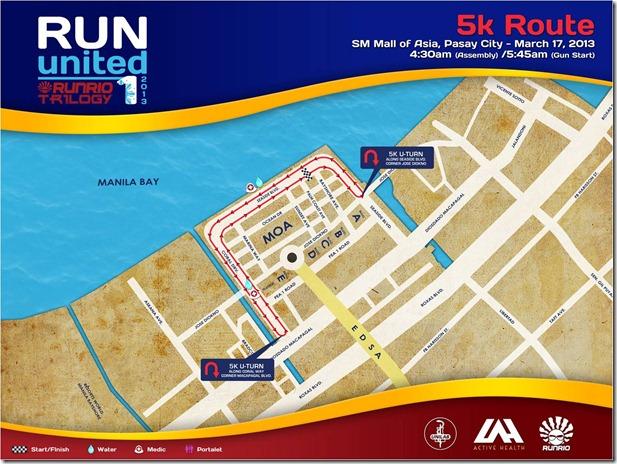 Ru1 5k route