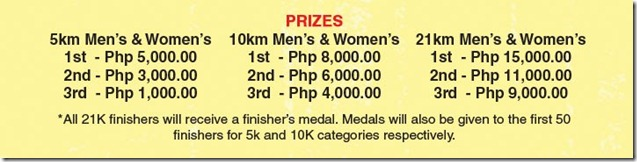 Merrell Adventure Run Prizes