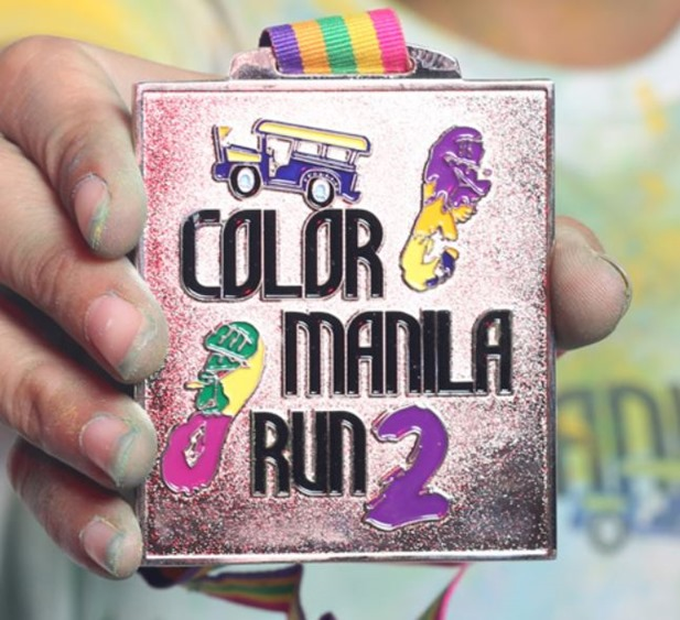 Color Manila Run 2 medal