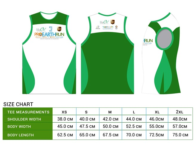 Pro-earth-run-singlet-size