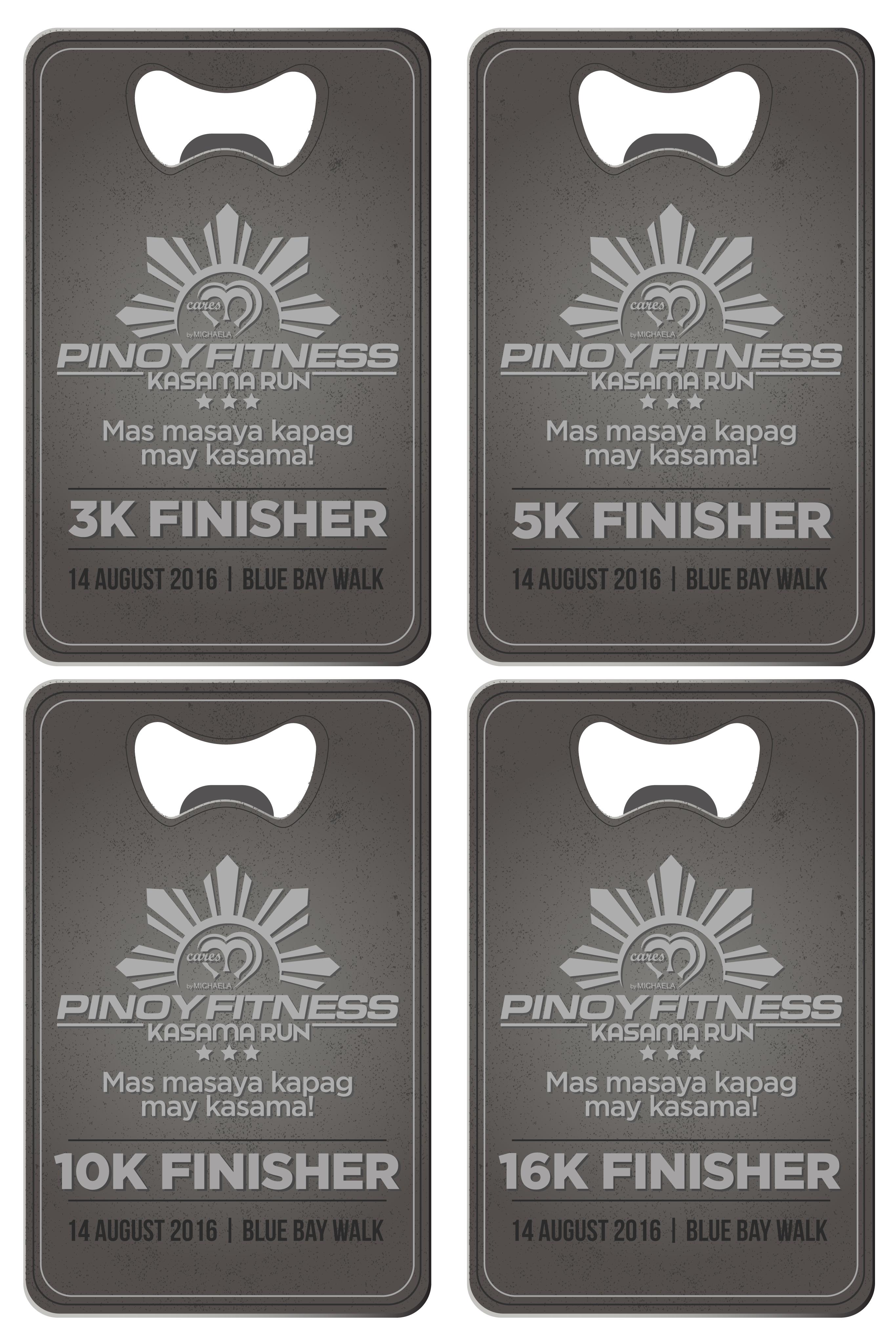PF Kasama Run X Michaela Medals